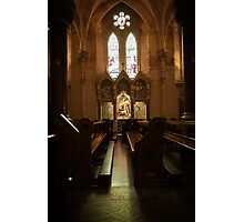 Irish cathedral Photographic Print