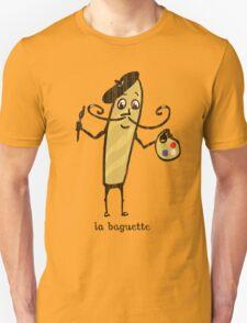 la baguette French bread cartoon T-Shirt