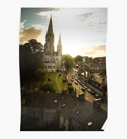 Irish church Poster