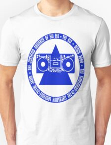 KLF Circled Pyramid Blaster (Blue) T-Shirt