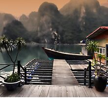 Halong Bay by Brendan Buckley