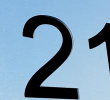 21 Sticker