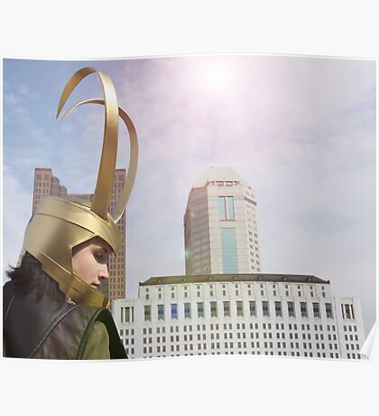 New York is for Norse Gods Poster