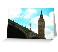 Big Ben Greeting Card