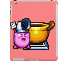 Chef Kirby with Cookpot iPad Case/Skin