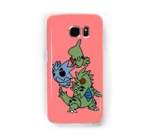 Larvitar, Pupitar and Tyranitar Samsung Galaxy Case/Skin