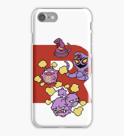 Team Rocket's Pokemon iPhone Case/Skin