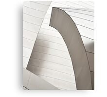 Disney Concert Hall Architecture II Canvas Print