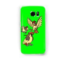 Pidgey, Pidgeotto and Pidgeot Samsung Galaxy Case/Skin