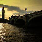 Big Ben at sunset by bposs98