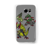 Axew, Fraxure and Haxorus Samsung Galaxy Case/Skin