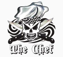 Skull Chef Shirt by sdesiata