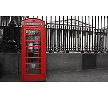 Phone Booth Photographic Print