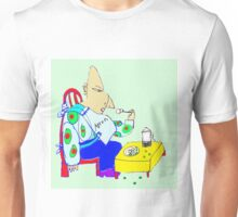 The Orge Eats His Peas And Potatoes And Spills The Peas On The Floor Unisex T-Shirt