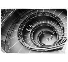 Bramante Staircase Vatican Poster