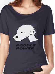 Poodle Power Women's Relaxed Fit T-Shirt