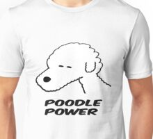 Poodle Power Unisex T-Shirt
