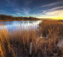 Bembridge Lagoons Sunset by manateevoyager