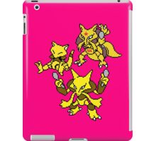 Abra, Kadabra and Alakazam iPad Case/Skin