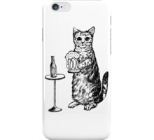 Real Cat Love Beer iPhone Case/Skin
