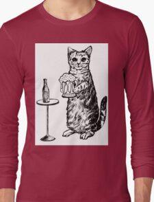 Real Cat Love Beer Long Sleeve T-Shirt