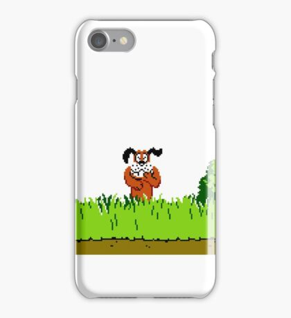 Duck Hunt Dog laughing iPhone Case/Skin