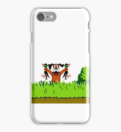 Duck Hunt Dog with 2 Ducks iPhone Case/Skin
