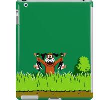 Duck Hunt Dog with 2 Ducks iPad Case/Skin