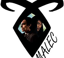 TMI - Malec Shadowhunter Rune  by Saraelle