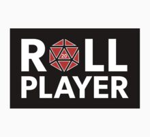 Roll Player Red d20 Sticker by NaShanta