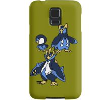 Piplup, Prinplup and Empoleon Samsung Galaxy Case/Skin