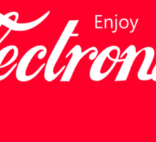 Enjoy Electronica Sticker
