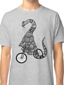 Brontosaurus Love Pipe  Classic T-Shirt