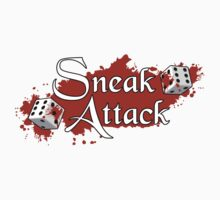 Sneak Attack Sticker by NaShanta