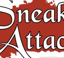 Sneak Attack Sticker Sticker