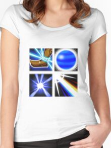 Lux Ability Icons Women's Fitted Scoop T-Shirt