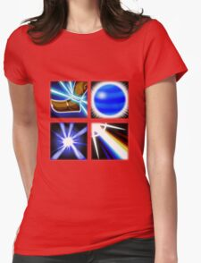 Lux Ability Icons Womens Fitted T-Shirt