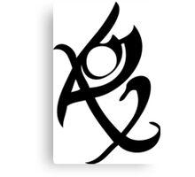 Mortal Instruments - Fearless Rune Canvas Print