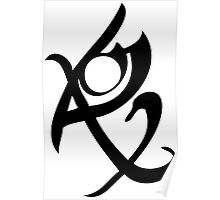 Mortal Instruments - Fearless Rune Poster