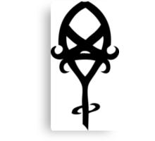 Mortal Instruments - Clairvoyant Sight Rune Canvas Print