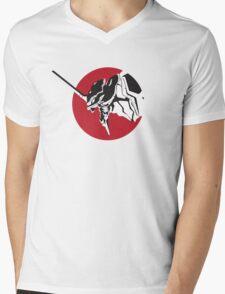 Eva scream Mens V-Neck T-Shirt