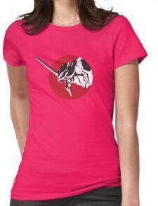 Eva scream Womens Fitted T-Shirt