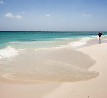 Manchebo Beach, Aruba by Polly Peacock