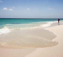Manchebo Beach, Aruba by Polly Peacock