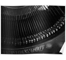 Typewriter 2 Poster
