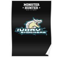 Monster Hunter All Stars - Ivory Shockers (Subspecies) Poster