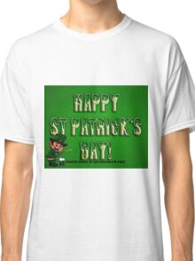 st patricks day tee Classic T-Shirt