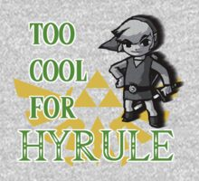 Too Cool For Hyrule by HalfFullBottle