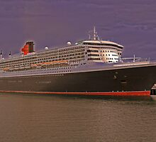 Queen Mary 2. From Photo to Painting. by silvershadow73