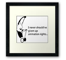 Arrested Development - Mr. Bananagrabber Framed Print